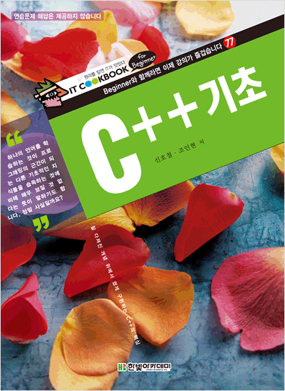IT CookBook for Beginner, C++ 기초