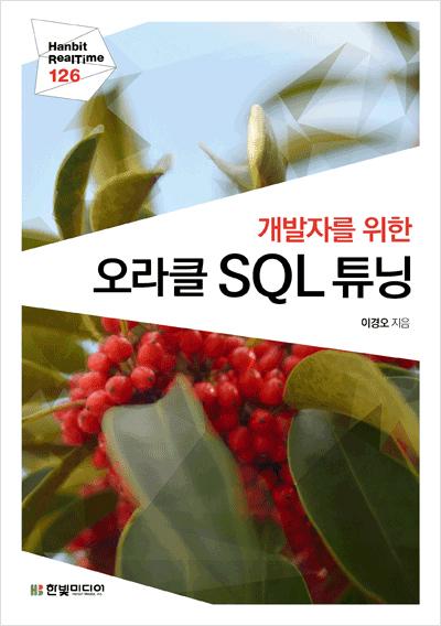 개발자를 위한 오라클 SQL 튜닝